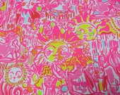 "18"" x 18"" Lilly Pulitzer Jacquard Fabric Kinis in the Keys"