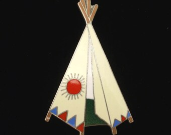 Teepee Tipi Pin by Acme