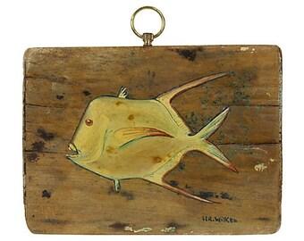 Fish Original Art by H.R. Wilken