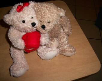 Christmas or Valentines Stuffed bears