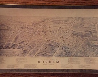 "Decoupage Glass Plate ""Durham"""