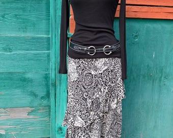 Vintage Ralph Lauren Tiered Ruffle Skirt