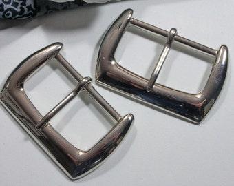 2 Buckles 40mm, belt buckles, buckles