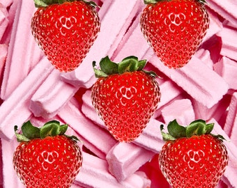 STRAWBERRY MUSK Perfume Roll On Fragrance Oil 12ml - Extra Strong - Alcohol Free