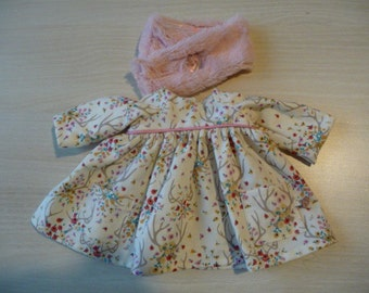 Together for Doll or rabbit in fabric