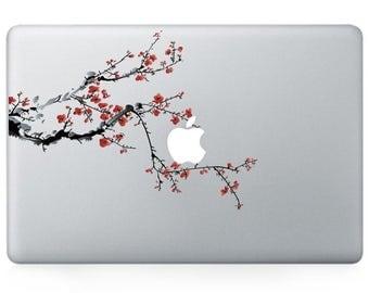 winter blossom Revenge vinyl decal, sticker for Apple Macbook Pro Mac 13inch
