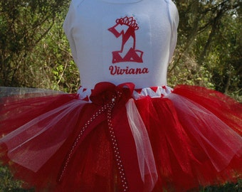 Red Baby Girl 1st Birthday Tutu Outfit,Red Baby Girl 1st Birthday Outfit, One Year Old Girl Birthday Outfit, 1 Year Old 1st Birthday Girl
