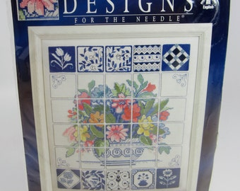 Designs For The Needle Florentine Tiles Counted Cross Stitch Kit #5372