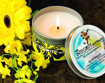 Pure Natural soy wax 8 oz Candle 40hr Burn ON  SALE NOW!