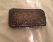 Antique Hairpin Box