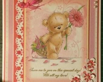 A teddy bear's love