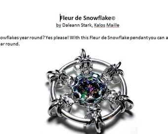 Fleur de Snowflake© Tutorial