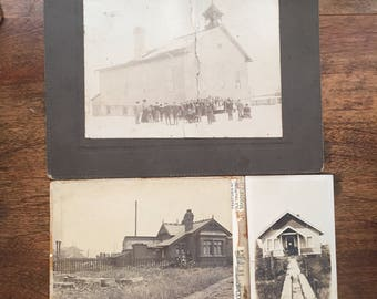 Antique Photos, Vintage Church Photo, Vintage Farmhouse Photos, Black and White Photos, Photos of Old Buildings
