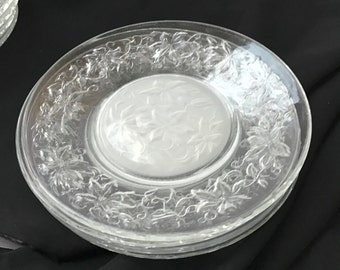 Princess House Fantasia Salad Plates 4 USA