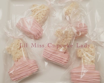 First Birthday Rice Krispy Party Favors (Available in Dipped and Undipped)
