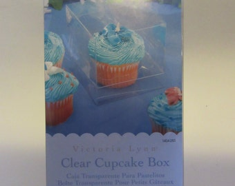 Clear Plastic Cupcake Boxes