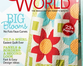 QUILTER'S WORLD – SPRING 2014