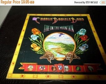 Save 30% Today Vintage 1974 LP Record The Charlie Daniels Band Fire on the Mountain Near Mint Condition 5285