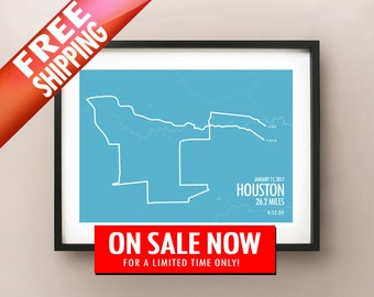 2017 Houston Marathon - LIMITED SALE + FREE Shipping!