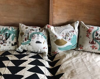 Handmade Mini Throw Pillows