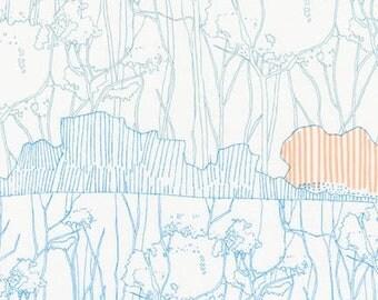 Friedlander - Dusty Blue - 1/2yd