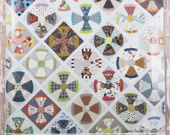Acrylic Templates - Steam Punk Quilt - Jen Kingwell - JKD 5903