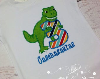 Dinosaur Birthday, Dinosaur Birthday Shirt, T-Rex Birthday Party, Dinosaur Birthday Party,  Dinosaur Baby, Dinosaur Shirt, T-Rex Birthday