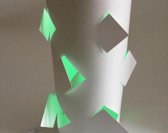 Lamp - Square - DIY Paper Craft Kit