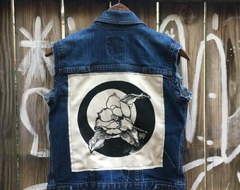 Magnolia backpatch vest SMALL