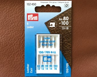 PRYM sewing machine needles leather