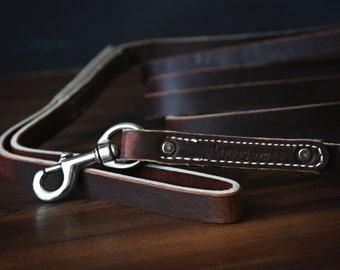 10 Ft Leather Dog Leash