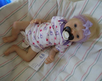 SALE Reborn Thomas a realborn sculpt lots of detail and a cuddly little preemie looking for forever home