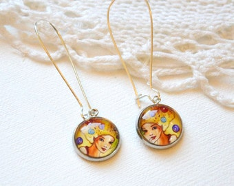 earrings romantic, fp 45