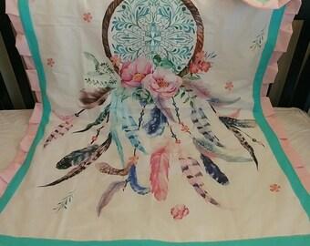 Dreamcatcher Crib Blanket