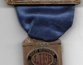 Great Southern Insurance Company Medal, 1939