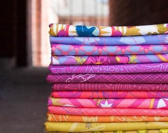 Alison Glass 76 Seventy Six Cotton Fabric FAT QUARTER Bundle by Andover Fabrics