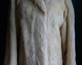 Goat coat Real fur jacket Size M/40 Made in Germany