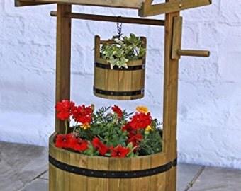 Garden Wishing Well Woodworking Plans
