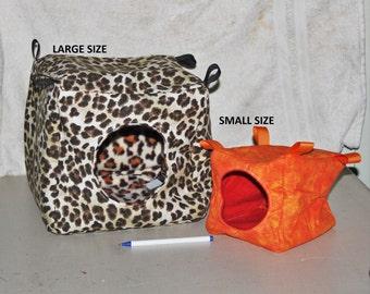 Cube Hammocks for Ferrets, Rats, Sugar Gliders