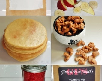 Celiac Safe, Gluten Free, Whole food, Snacking, College Care Package - Goodies Grab Bag - Baked Goods