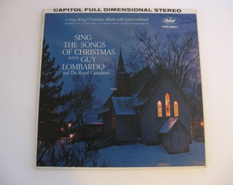 Rare!  Guy Lombardo - Sing The Songs Of Christmas - Circa 1950's