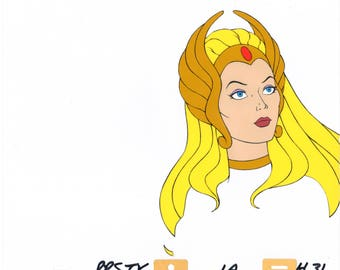 She-Ra Princess of Power Production Animation Art Cel Filmation 2*