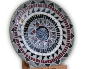 Unique decorative plates with ceramic mosaic, an excellent promotional gift. Limited edition, each item numbered.