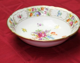 "1950's Schumann Bavaria ""Empress"" Serving Bowl. Made in Germany"