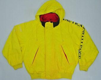 Nautica Vintage Jacket Vintage Nautica Challenge Windbreaker 90s Nautica Sailing Jacket Mens Size L
