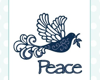 Sue Wilson Dies ~ Festive Collection Dove of Peace, CED3035 ~