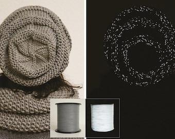 Reflective yarn, reflective thread