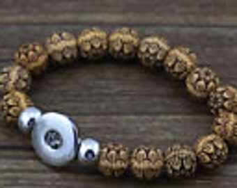 Embossed Cork Bracelet