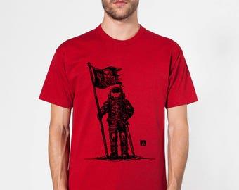 KillerBeeMoto: Space Pirate Astronaut Short or Long Sleeve T-Shirt