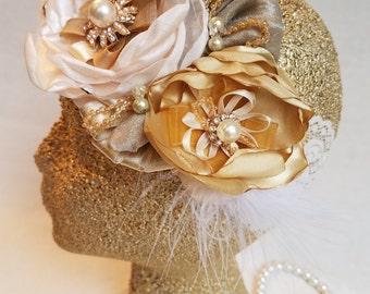vintage floral headband/floral headband/girl headband/baby headband bow/girl bow headband/floral girl headband/vintage headband/